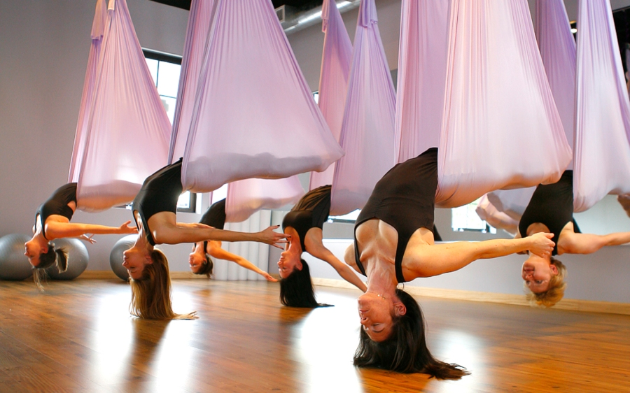 Bend, Stretch & Fly: AerialYoga