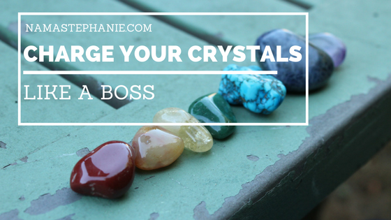 Charge Your Crystals Like A Boss